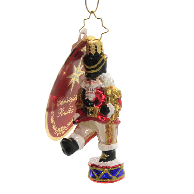 Parading Nutcracker Gem 1020236 Glass Ornaments - SBKGIFTS.COM - SBK Gifts Christmas Shop Cincinnati - Story Book Kids