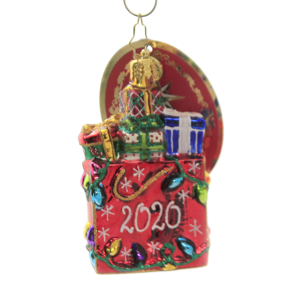 2020 Goodie Bag Gem 1020263 Glass Ornaments - SBKGIFTS.COM - SBK Gifts Christmas Shop Cincinnati - Story Book Kids