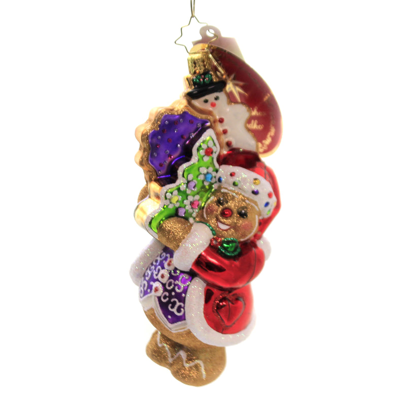 The Gingerbread Man Can 1020303 Glass Ornaments - SBKGIFTS.COM - SBK Gifts Christmas Shop Cincinnati - Story Book Kids