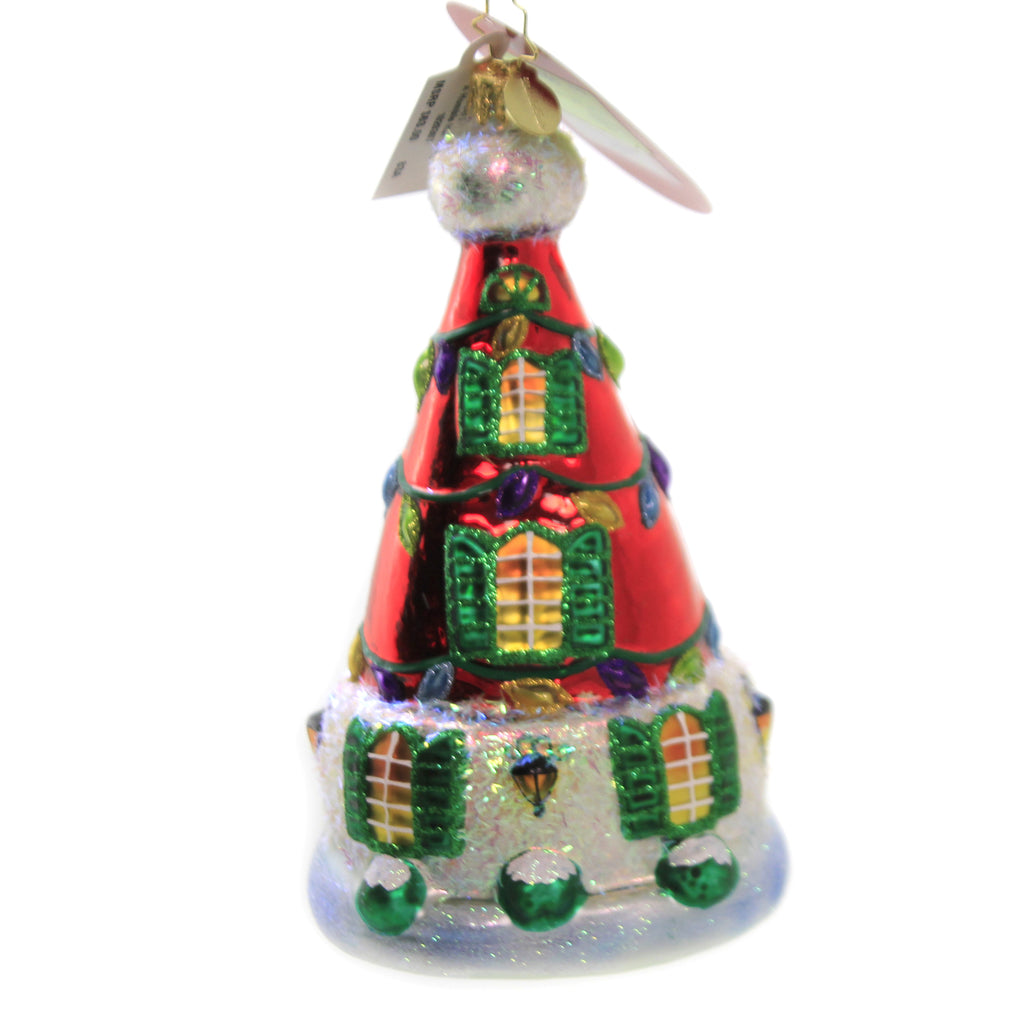 A Humble Hat Home 1020307 Glass Ornaments - SBKGIFTS.COM - SBK Gifts Christmas Shop Cincinnati - Story Book Kids