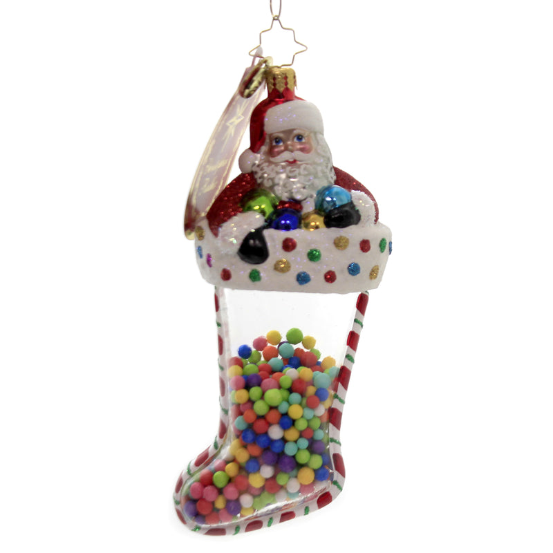 Gumballs Galore! 1020442 Glass Ornaments - SBKGIFTS.COM - SBK Gifts Christmas Shop Cincinnati - Story Book Kids