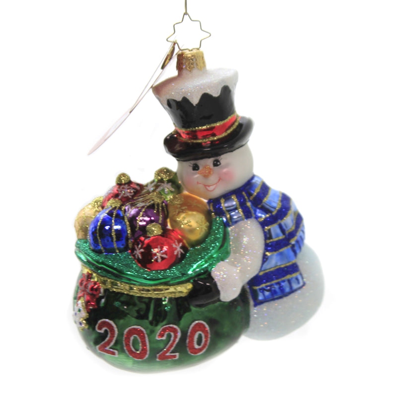 One Proud Collector 1020385 Glass Ornaments - SBKGIFTS.COM - SBK Gifts Christmas Shop Cincinnati - Story Book Kids