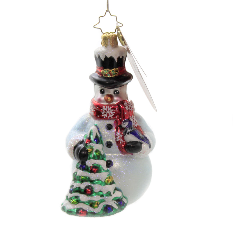 A Bird In The Hand 1020364 Glass Ornaments - SBKGIFTS.COM - SBK Gifts Christmas Shop Cincinnati - Story Book Kids