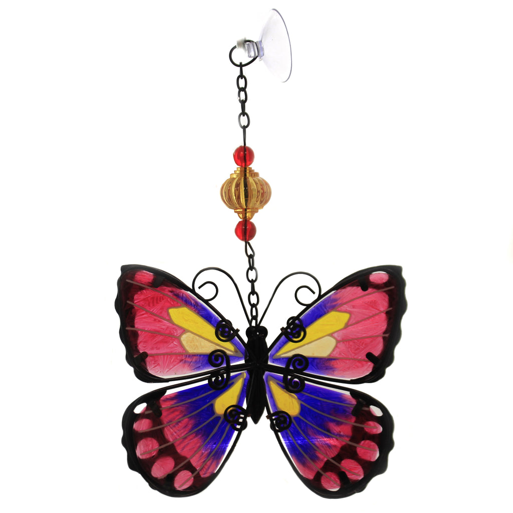 Purple Butterfly Sun Catcher 12333. Home Decor Home Decor - SBKGIFTS.COM - SBK Gifts Christmas Shop Cincinnati - Story Book Kids