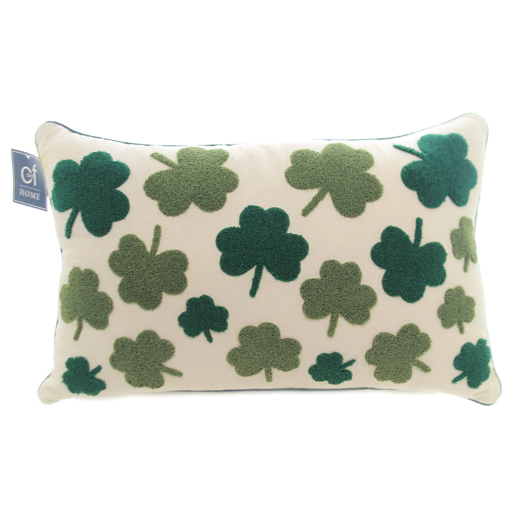 Irish Clover Pillow 860321980B Home Decor Decorative Pillows - SBKGIFTS.COM - SBK Gifts Christmas Shop Cincinnati - Story Book Kids