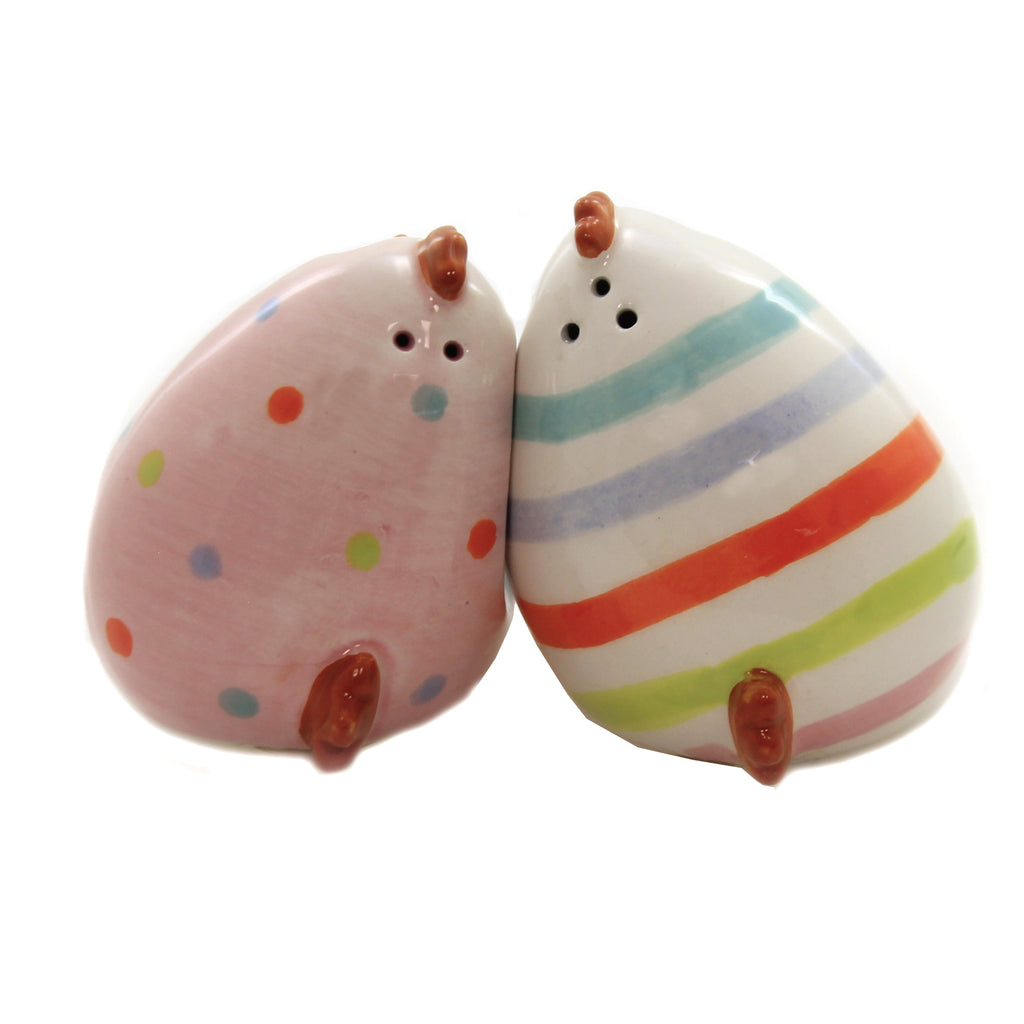 Chick Salt & Pepper Shaker Set 46004114 Tabletop Salt And Pepper Shakers - SBKGIFTS.COM - SBK Gifts Christmas Shop Cincinnati - Story Book Kids