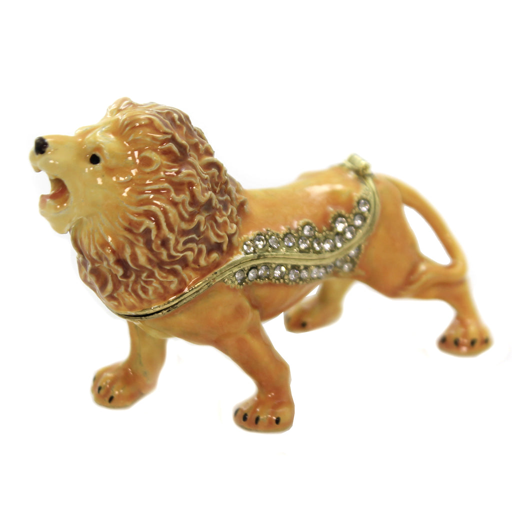 Lion Hinged Trinket Box 3770 Hinged Trinket Box Hinged Trinket Boxes And Trinket Boxes - SBKGIFTS.COM - SBK Gifts Christmas Shop Cincinnati - Story Book Kids