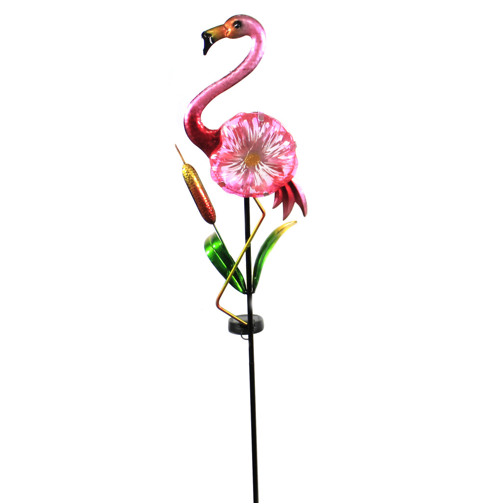Flamingo Solar Garden Stake Er62077 Home & Garden Decorative Stakes And Pokes And Plant Sticks - SBKGIFTS.COM - SBK Gifts Christmas Shop Cincinnati - Story Book Kids