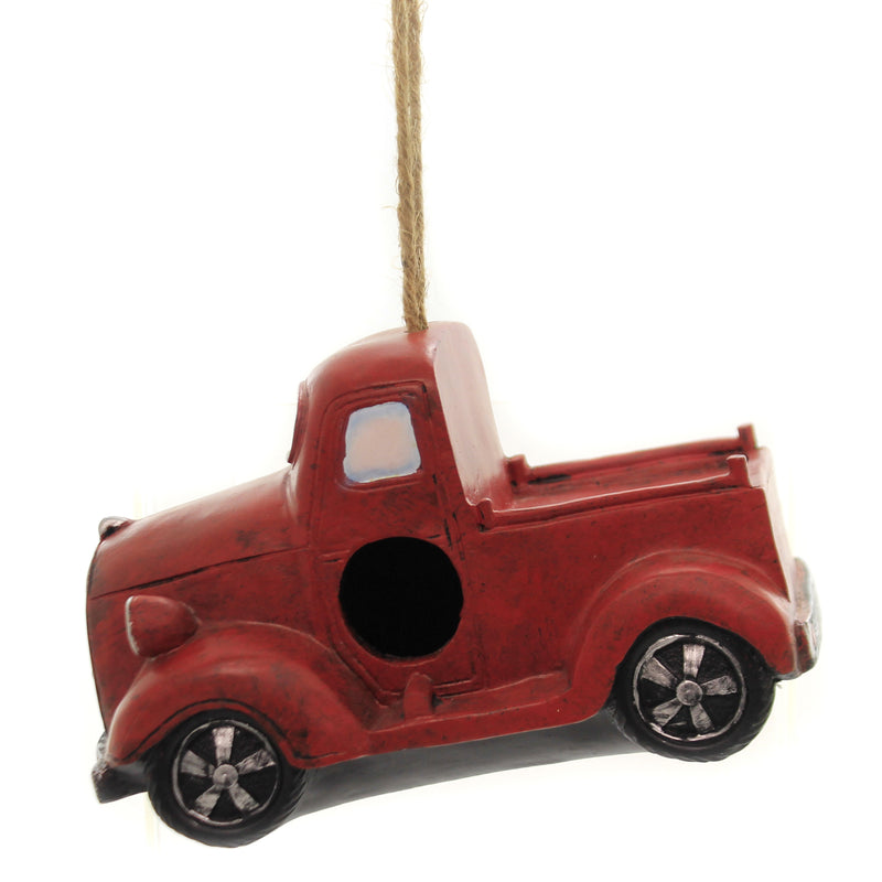 Truck Birdhouse Er59407 Red Home & Garden Bird Houses - SBKGIFTS.COM - SBK Gifts Christmas Shop Cincinnati - Story Book Kids