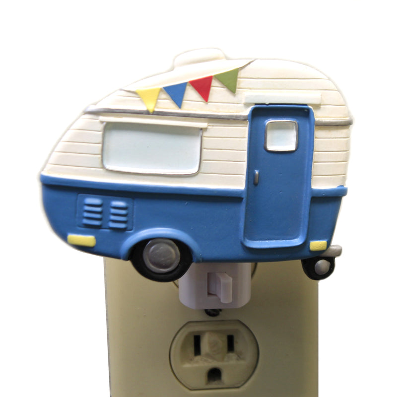 Camper Night Light Er58555 Blue Home Decor Night Lights - SBKGIFTS.COM - SBK Gifts Christmas Shop Cincinnati - Story Book Kids
