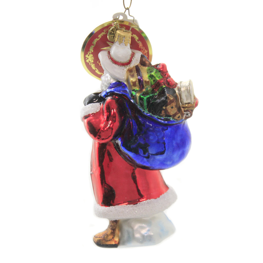 Texas Ranger Nick 1018009 Glass Ornaments - SBKGIFTS.COM - SBK Gifts Christmas Shop Cincinnati - Story Book Kids