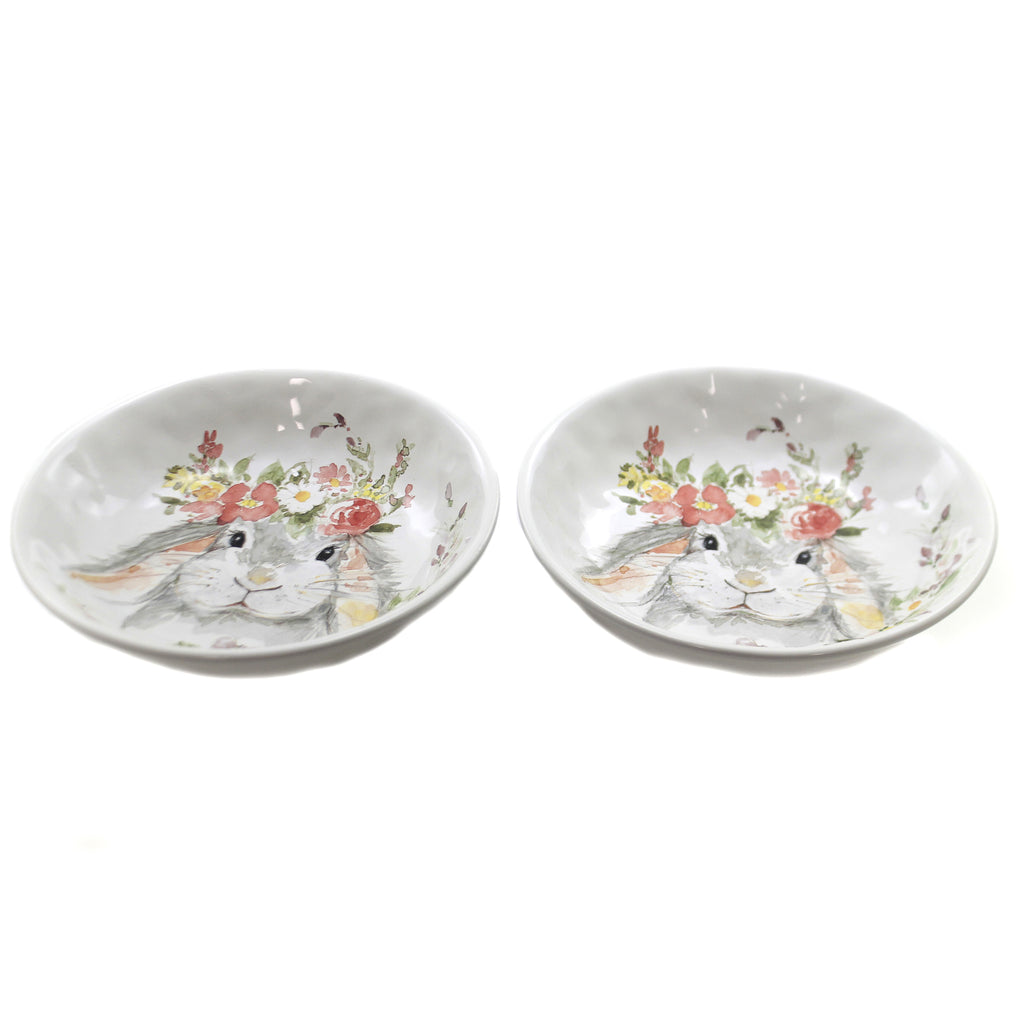 Sweet Bunny Vegetable Bowls S/2 23234 Set Of 2 Tabletop Serving Bowls - SBKGIFTS.COM - SBK Gifts Christmas Shop Cincinnati - Story Book Kids