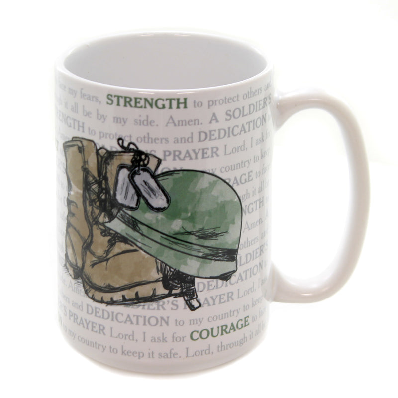 A Soldier's Prayer Mug 22572 Tabletop Coffee Cups And Mugs - SBKGIFTS.COM - SBK Gifts Christmas Shop Cincinnati - Story Book Kids