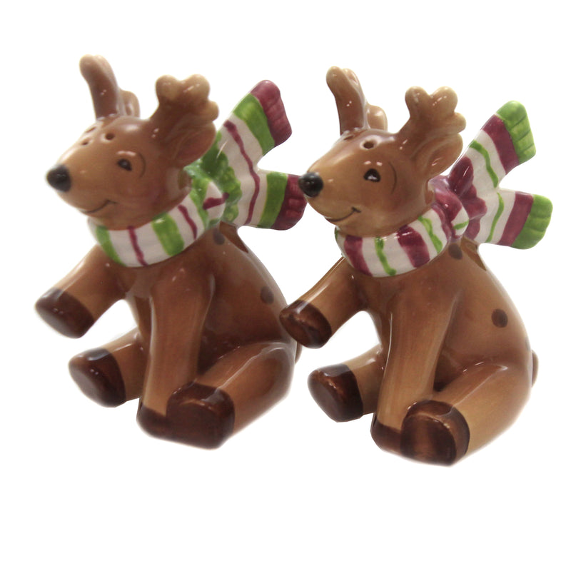 Reindeer Salt/Pepper 10643 Tabletop Salt And Pepper Shakers - SBKGIFTS.COM - SBK Gifts Christmas Shop Cincinnati - Story Book Kids