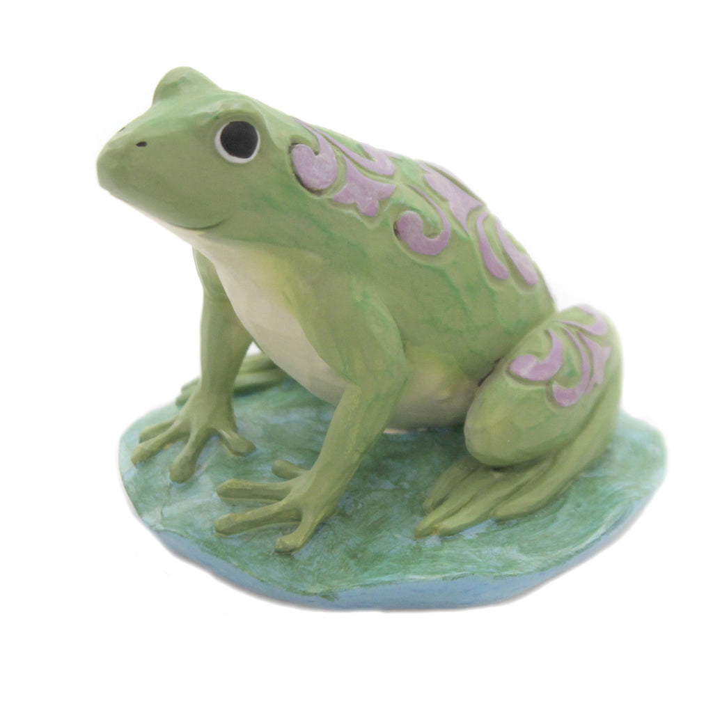Mini Frog 6006448 Jim Shore Figurines - SBKGIFTS.COM - SBK Gifts Christmas Shop Cincinnati - Story Book Kids