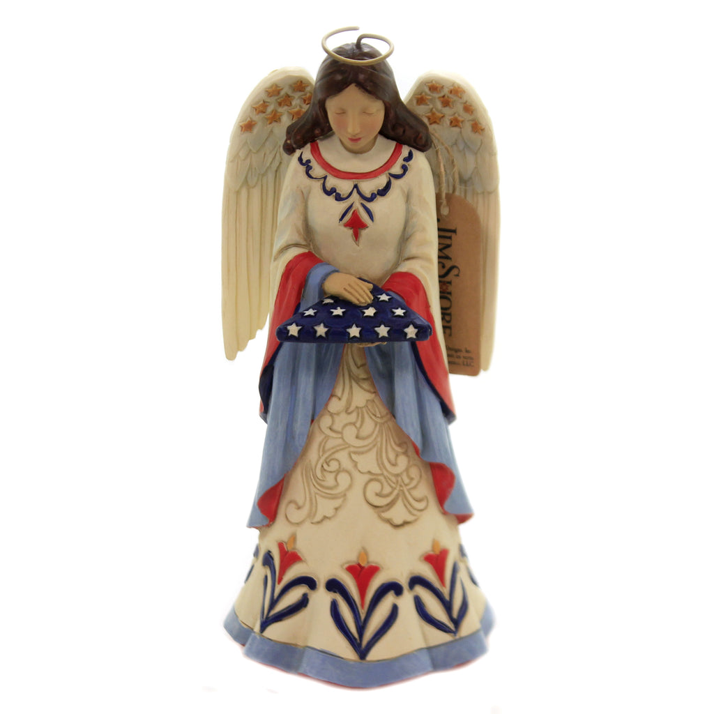 Blessed Are The Brave 6006440 Jim Shore Figurines - SBKGIFTS.COM - SBK Gifts Christmas Shop Cincinnati - Story Book Kids