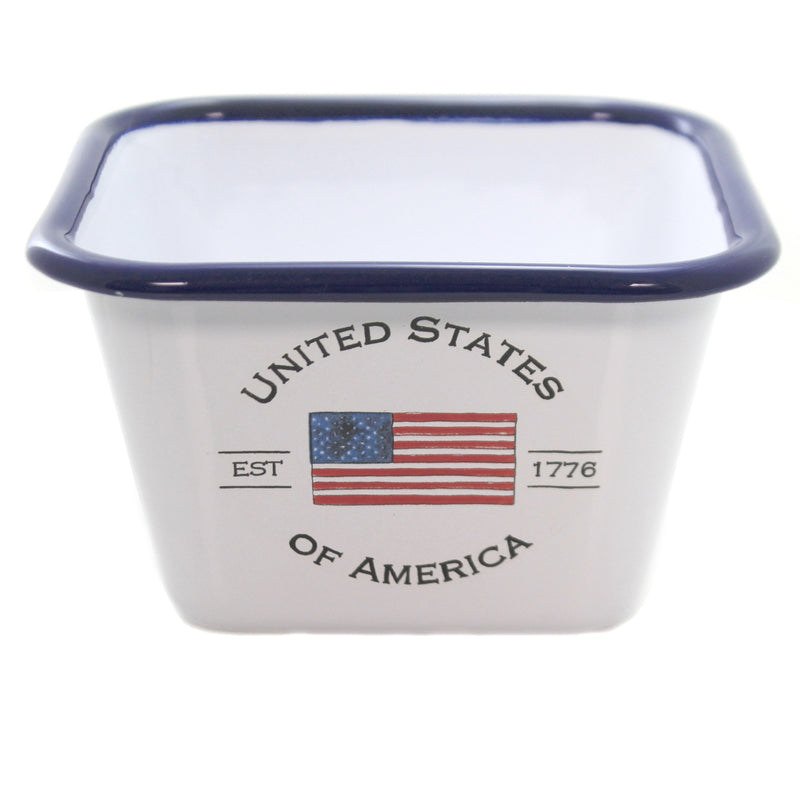 Usa Enamelware Bowl Baf18360 Tabletop Serving Bowls - SBKGIFTS.COM - SBK Gifts Christmas Shop Cincinnati - Story Book Kids