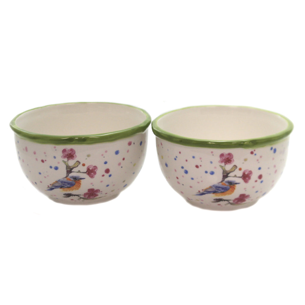 Bird And Cherry Blossom Bowl Kac20021 Tabletop Serving Bowls - SBKGIFTS.COM - SBK Gifts Christmas Shop Cincinnati - Story Book Kids
