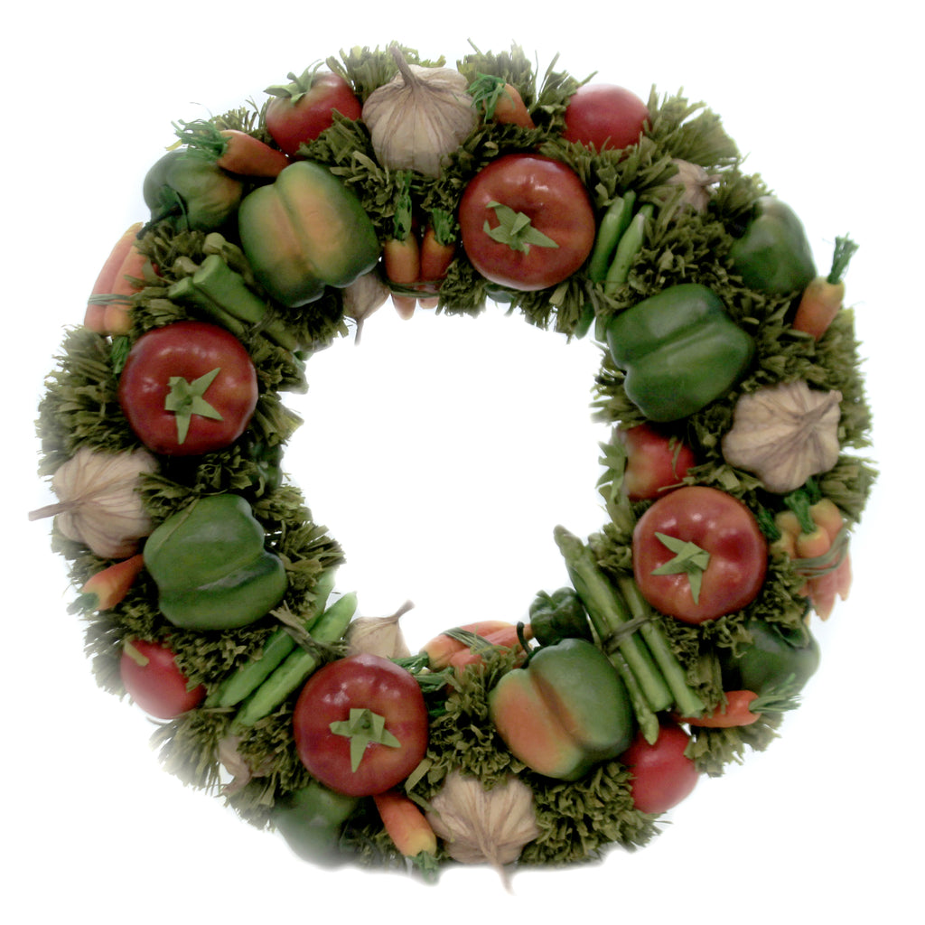 Vegetable Wreath Vwv501 Home & Garden Wreaths - SBKGIFTS.COM - SBK Gifts Christmas Shop Cincinnati - Story Book Kids