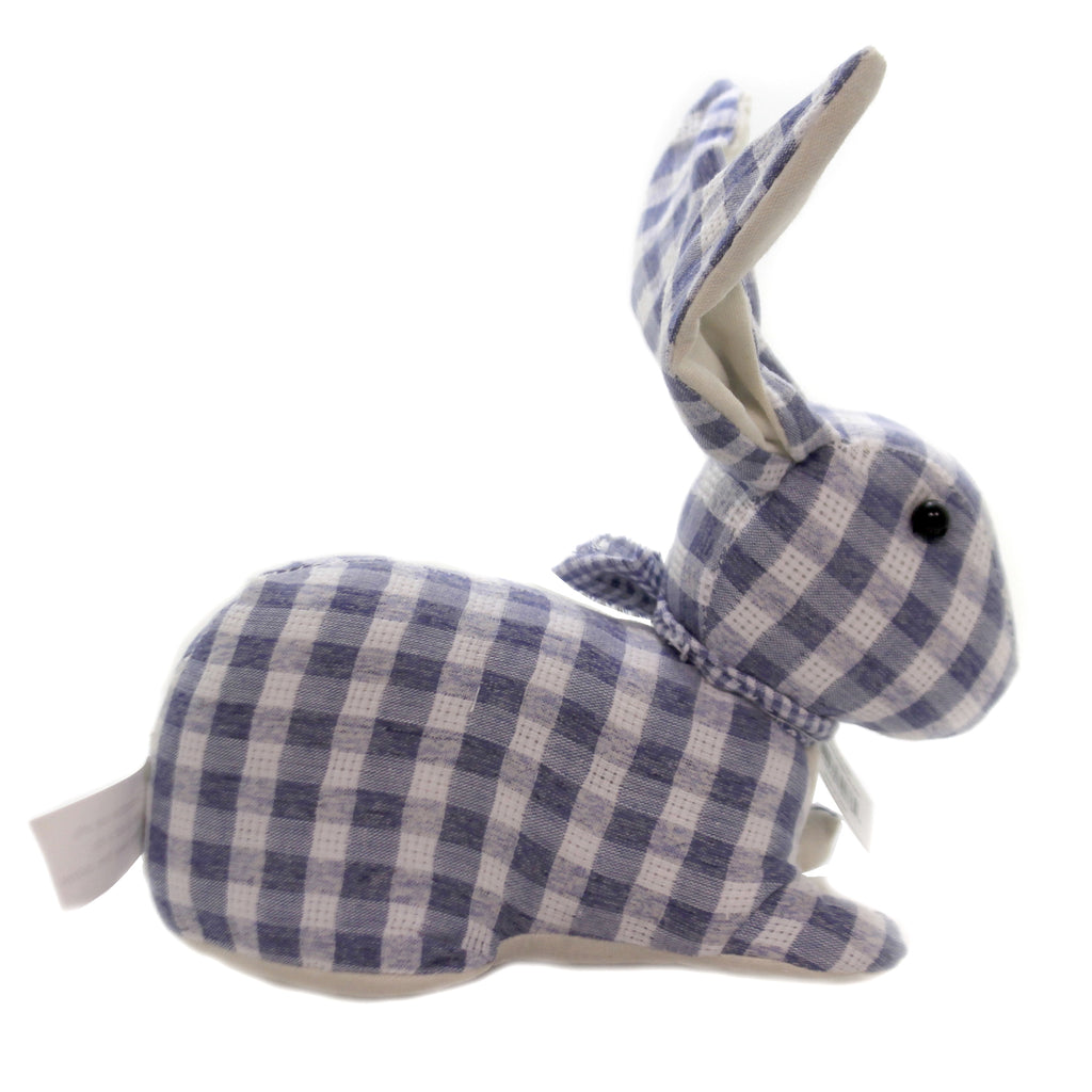Plaid Bunny Ahn012 Plush Plush - SBKGIFTS.COM - SBK Gifts Christmas Shop Cincinnati - Story Book Kids