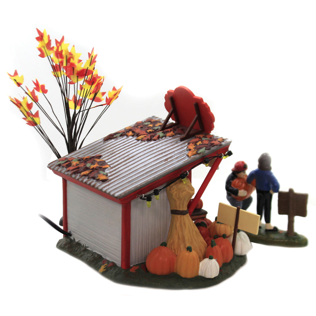 Patty's Pumpkin Patch 6005479 Department 56 Halloween Village Buildings - SBKGIFTS.COM - SBK Gifts Christmas Shop Cincinnati - Story Book Kids