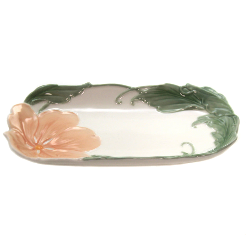Magnolia Serving Dish 10188. Tabletop Plates And Platters - SBKGIFTS.COM - SBK Gifts Christmas Shop Cincinnati - Story Book Kids