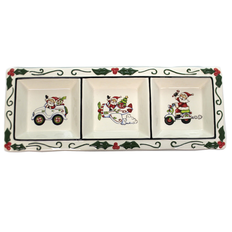 I Believe 3-Section Dish 10668 Tabletop Plates And Platters - SBKGIFTS.COM - SBK Gifts Christmas Shop Cincinnati - Story Book Kids