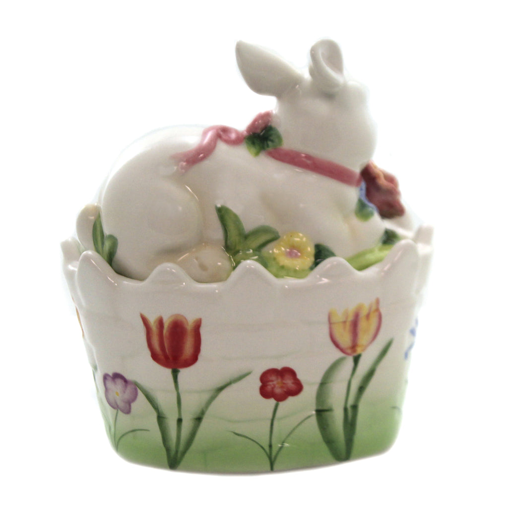 Bunny Candy Box 10444. Tabletop Other Decorative Serveware And Kitchen Accessories - SBKGIFTS.COM - SBK Gifts Christmas Shop Cincinnati - Story Book Kids