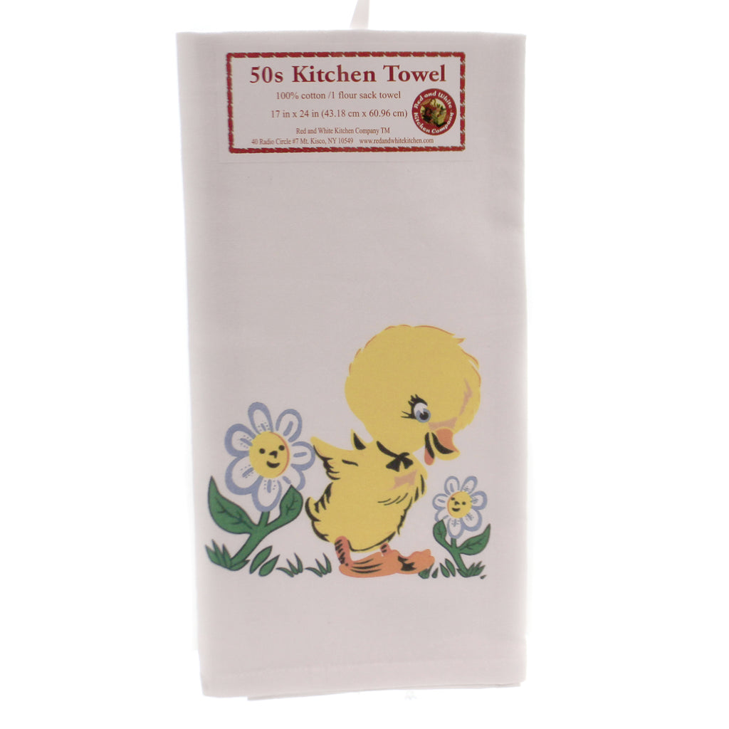 Sally The Duck Kitchen Towel Vl112 Tabletop Decorative Towels - SBKGIFTS.COM - SBK Gifts Christmas Shop Cincinnati - Story Book Kids