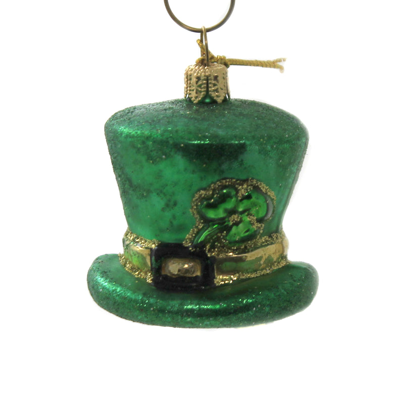 Irish Hat 1873P Glass Ornaments - SBKGIFTS.COM - SBK Gifts Christmas Shop Cincinnati - Story Book Kids