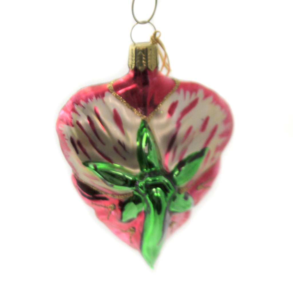 Pansy Of17281 Glass Ornaments - SBKGIFTS.COM - SBK Gifts Christmas Shop Cincinnati - Story Book Kids