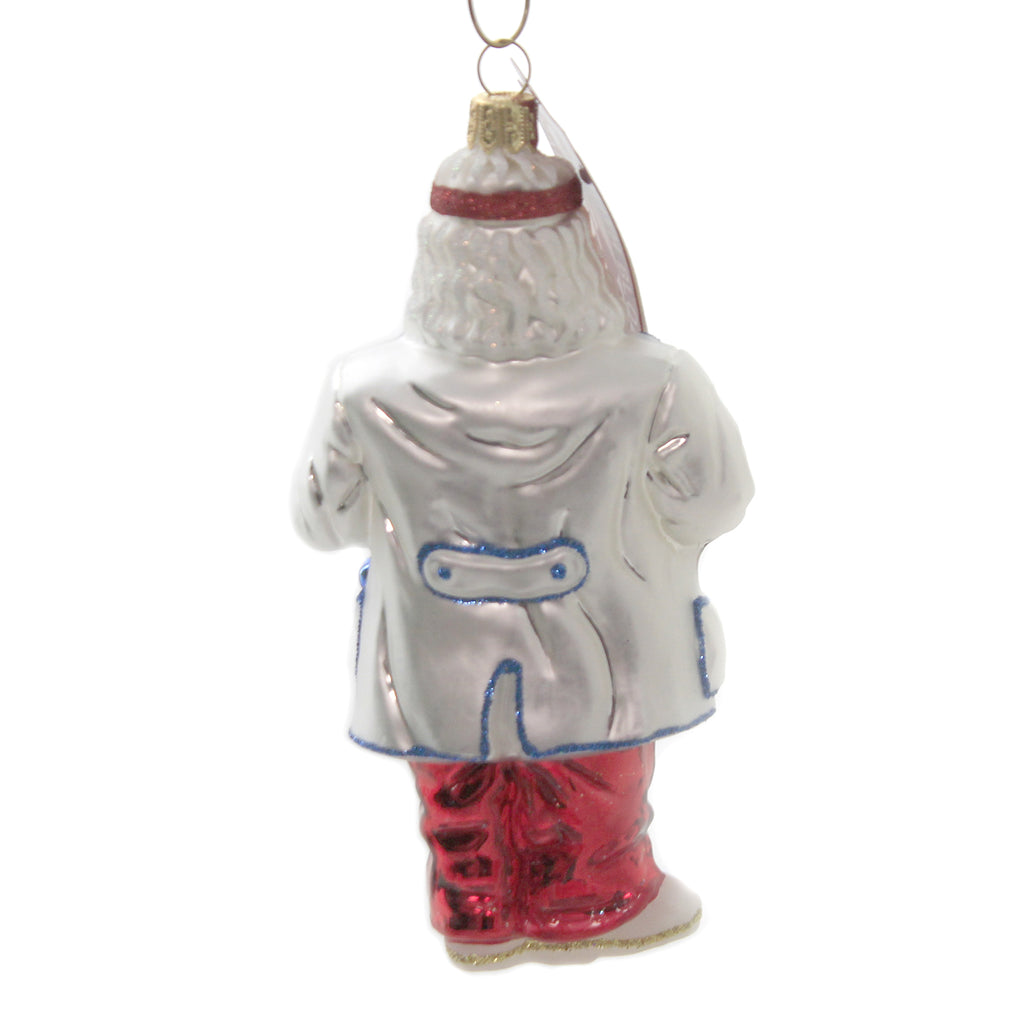 Dentist Santa 1251N Glass Ornaments - SBKGIFTS.COM - SBK Gifts Christmas Shop Cincinnati - Story Book Kids