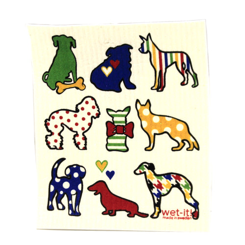 Dogs And Cats W434w435 Swedish Dish Cloth Household Cleaning Cloth And Tool - SBKGIFTS.COM - SBK Gifts Christmas Shop Cincinnati - Story Book Kids