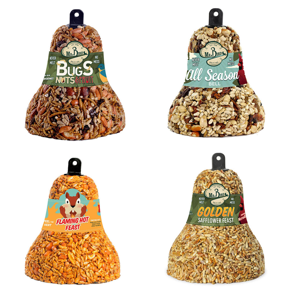 Seed Bell Varitey Set B621b412b212b618 Home & Garden Bird Supplies - SBKGIFTS.COM - SBK Gifts Christmas Shop Cincinnati - Story Book Kids