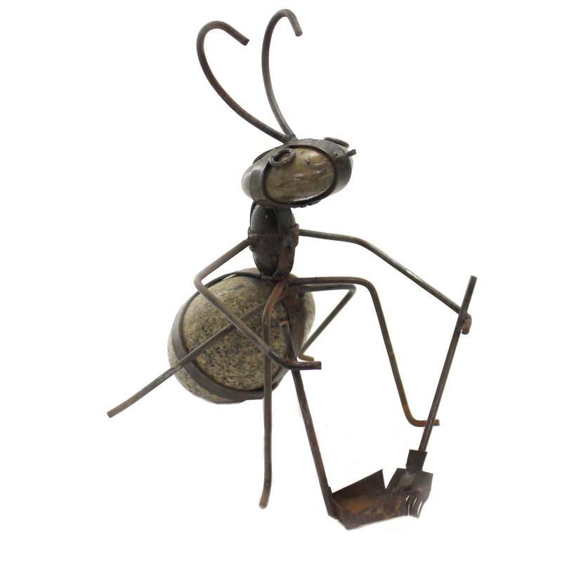 Yard Clean Up Ant A2032 Home & Garden Garden Statues - SBKGIFTS.COM - SBK Gifts Christmas Shop Cincinnati - Story Book Kids