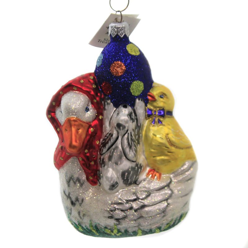 Goose Party 99128A Glass Ornaments - SBKGIFTS.COM - SBK Gifts Christmas Shop Cincinnati - Story Book Kids