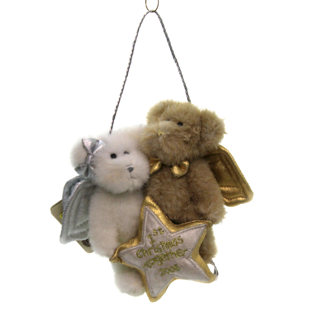 First Christmas Together 2006 562712 Boyds Bears Plush Plush Ornaments - SBKGIFTS.COM - SBK Gifts Christmas Shop Cincinnati - Story Book Kids