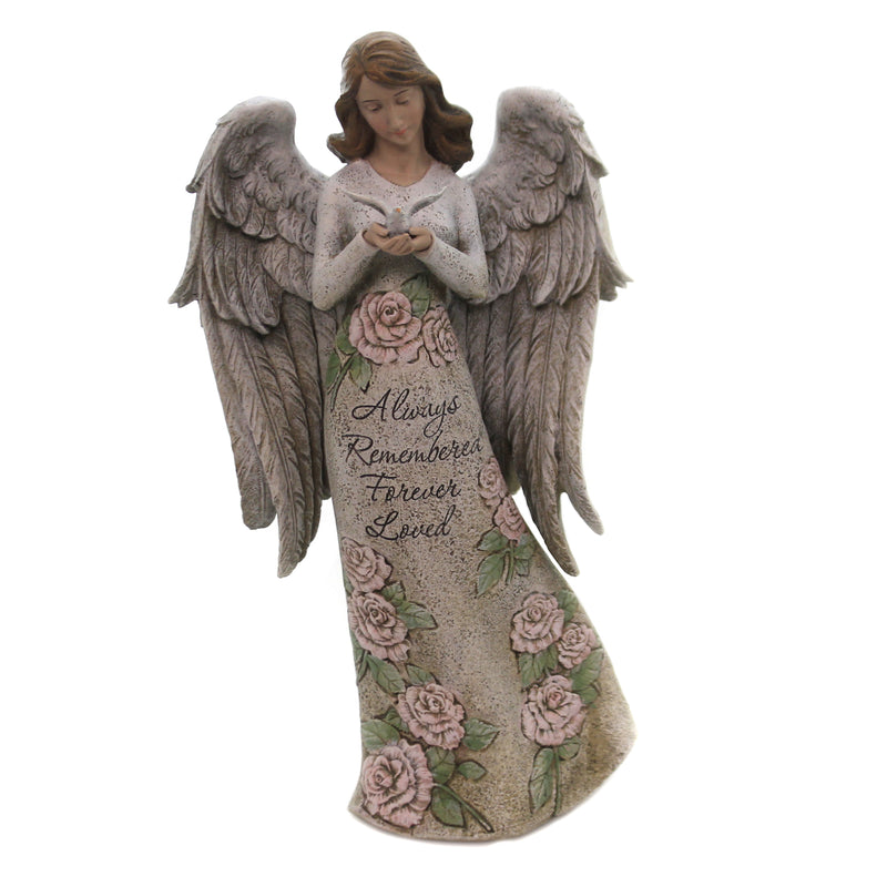 Memorial Angel With Dove 602094 Home & Garden Garden Statues - SBKGIFTS.COM - SBK Gifts Christmas Shop Cincinnati - Story Book Kids
