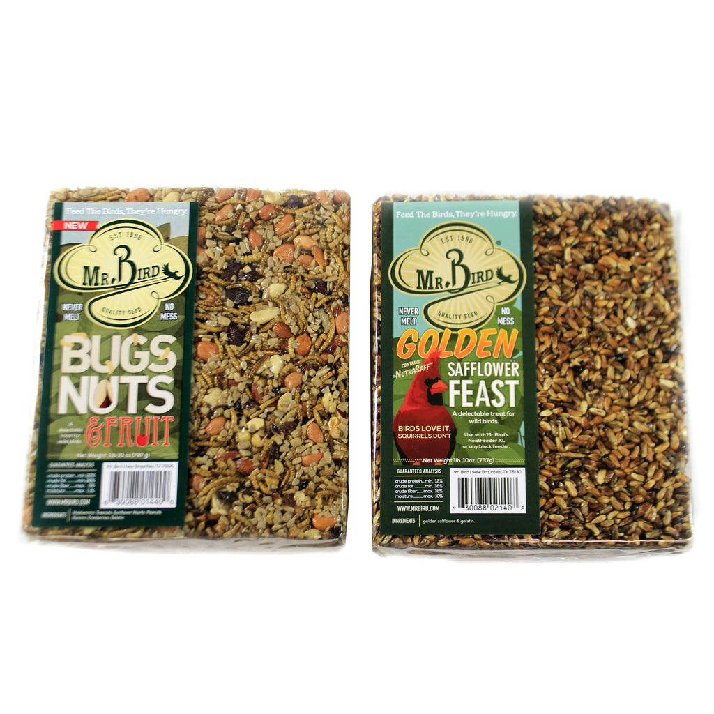 Bug Nuts Safflower Xl Cake 440*140Gs Home & Garden Bird Supplies - SBKGIFTS.COM - SBK Gifts Christmas Shop Cincinnati - Story Book Kids