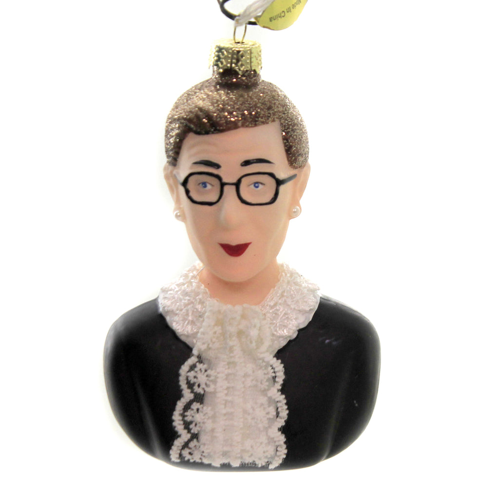Ruth Bader Ginsburg Go4015 Glass Ornaments - SBKGIFTS.COM - SBK Gifts Christmas Shop Cincinnati - Story Book Kids