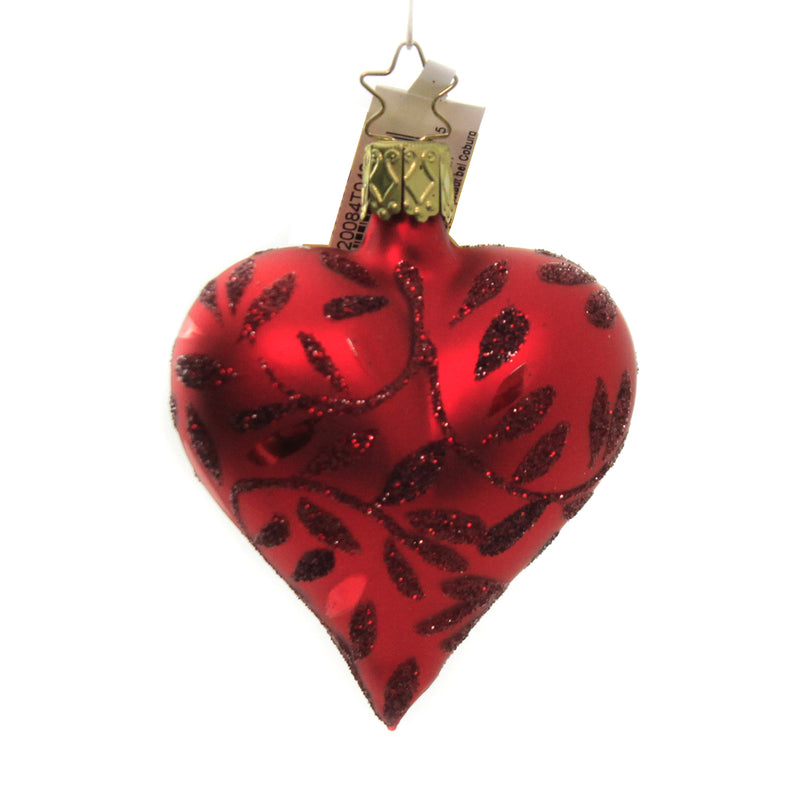 Delights Red Heart 20084T040 Inge Glas Glass Ornaments - SBKGIFTS.COM - SBK Gifts Christmas Shop Cincinnati - Story Book Kids