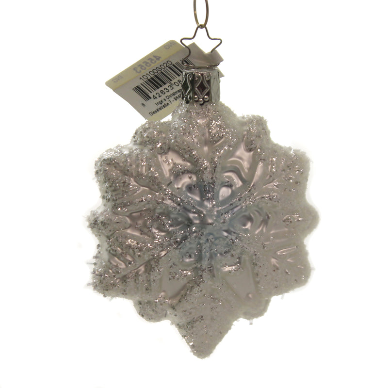 Snowflake 10100S020 Inge Glas Glass Ornaments - SBKGIFTS.COM - SBK Gifts Christmas Shop Cincinnati - Story Book Kids