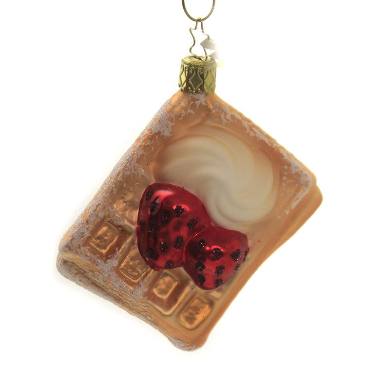Waffle 10073S020 Inge Glas Glass Ornaments - SBKGIFTS.COM - SBK Gifts Christmas Shop Cincinnati - Story Book Kids