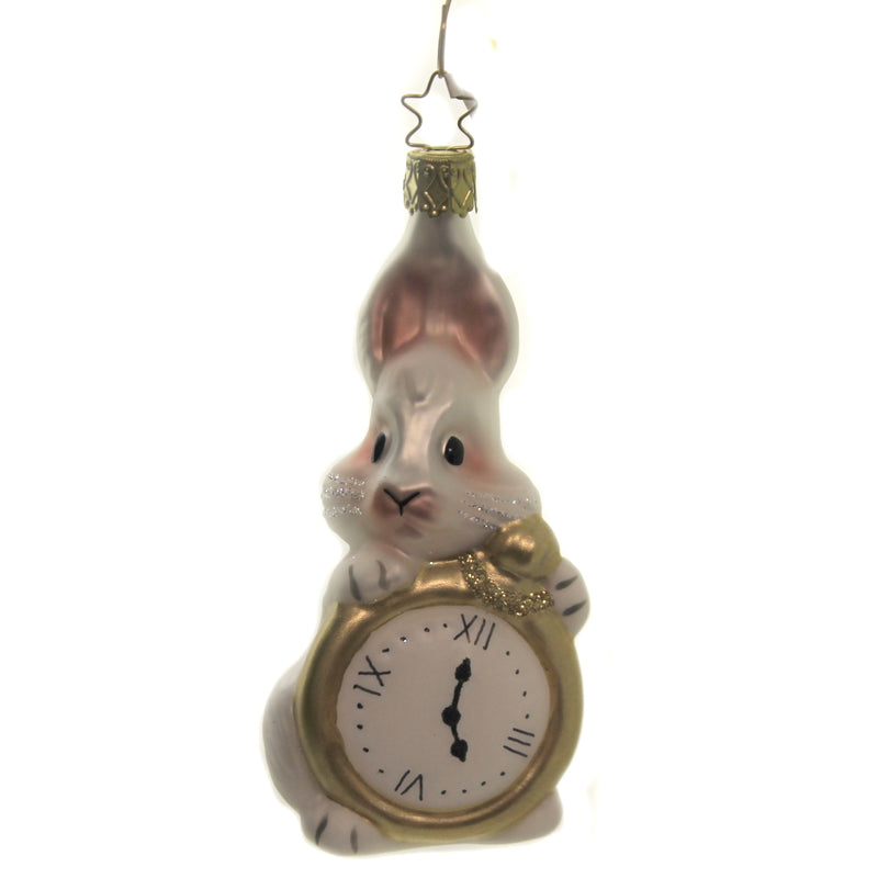 Bunny Time 10058S020 Inge Glas Glass Ornaments - SBKGIFTS.COM - SBK Gifts Christmas Shop Cincinnati - Story Book Kids