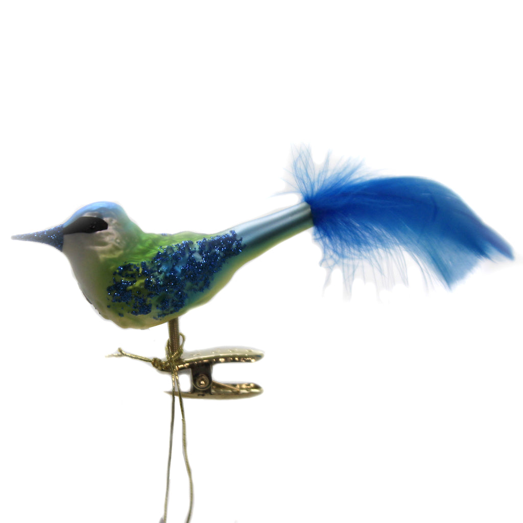 Bluetit 10012S020 Inge Glas Glass Ornaments - SBKGIFTS.COM - SBK Gifts Christmas Shop Cincinnati - Story Book Kids