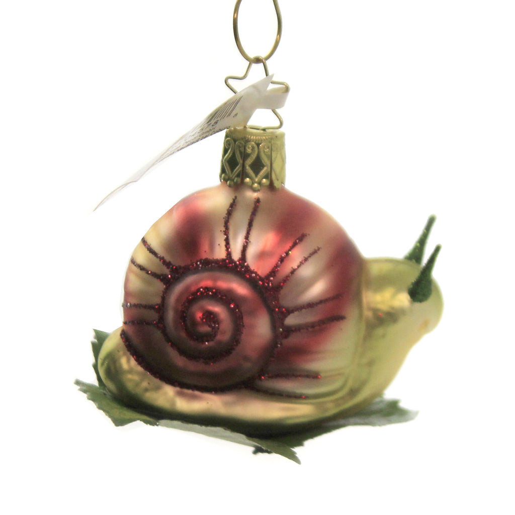Steady Snail 10154S015 Inge Glas Glass Ornaments - SBKGIFTS.COM - SBK Gifts Christmas Shop Cincinnati - Story Book Kids