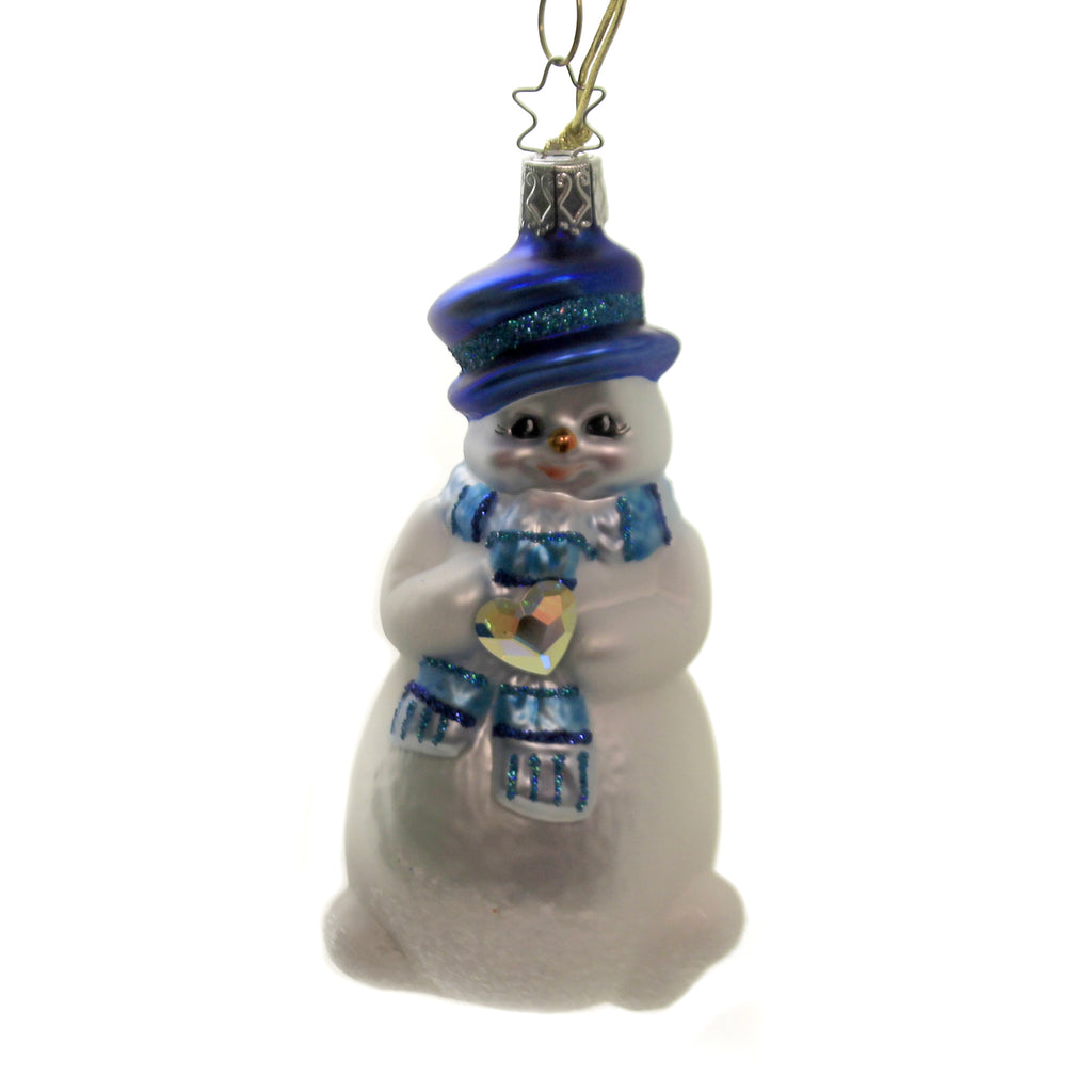 Beloved Winterfriend 10001S020 Inge Glas Glass Ornaments - SBKGIFTS.COM - SBK Gifts Christmas Shop Cincinnati - Story Book Kids
