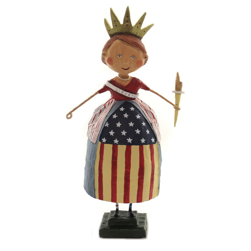 Lady Liberty 70059 Lori Mitchell Figurines - SBKGIFTS.COM - SBK Gifts Christmas Shop Cincinnati - Story Book Kids