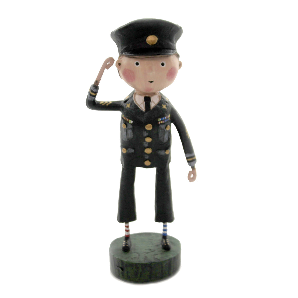 Proud To Serve 12281 Lori Mitchell Figurines - SBKGIFTS.COM - SBK Gifts Christmas Shop Cincinnati - Story Book Kids