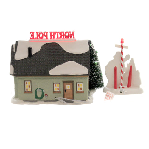 The North Pole House 6005449 Department 56 Village Buildings - SBKGIFTS.COM - SBK Gifts Christmas Shop Cincinnati - Story Book Kids